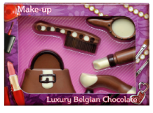 Belgian Milk Chocolate Make-Up Set.